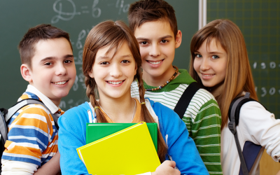 Jovens e a sua adaptação nos primeiros dias de aula. O que você pode fazer